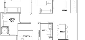 the-florence-residences-floor-plan-3-bedroom-classic-3c1-hougang-singapore