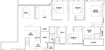 the-florence-residences-floor-plan-4-bedroom-classic-4c1a-hougang-singapore